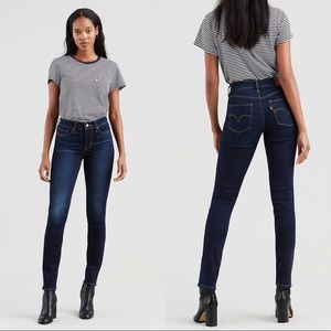 Levi's Shaping Skinny Jeans Dark Wash 24